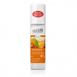Déodorant Spray Orange & Argousier-75 ml - Parfum fruité