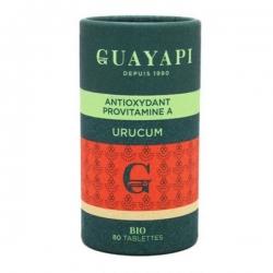 Guayapi Urucum solaire 80 comprimés de 600mg bixine selenium les copines bio