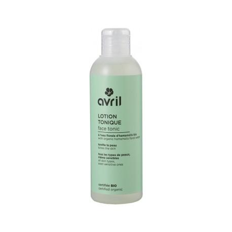 Avril cosmétique Lotion tonique à l'eau florale d'hamamelis 200ml nettoyant bio les copines bio