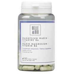 Belle et Bio Magnésium Marin Vitamine B6 120 gélules équilibre nerveux