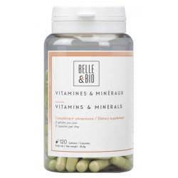 Belle et bio Vitamines et minéraux 120 gélules les copines bio