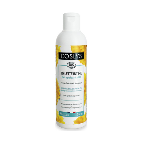 Gel de toilette intime muqueuses sensibles 250 ml Les Copines Bio Hygiène bio