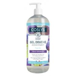 Gel douche adoucissant bulle de velours peau sensible sans allergène à l'extrait de Figue 1 L Les Copines Bio Hygiène bio