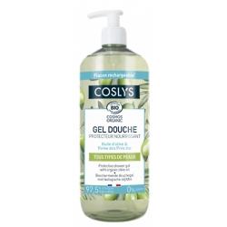 Coslys Gel douche protecteur et nourrissant à l'huile d'olive -1 L  bulle de douceur les copines bio