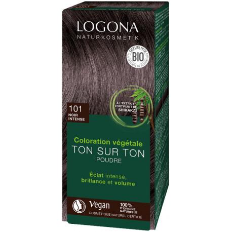 Soin colorant végétal poudre Noir intense 100 g