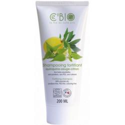 C'Bio Shampooing fortifiant Quinquina Sauge Citron 200 ml