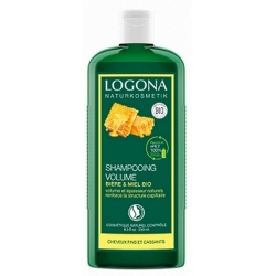 Logona Shampooing au miel et à la bière cheveux fins 250ml cosmétique bio shampoing bio les copines bio