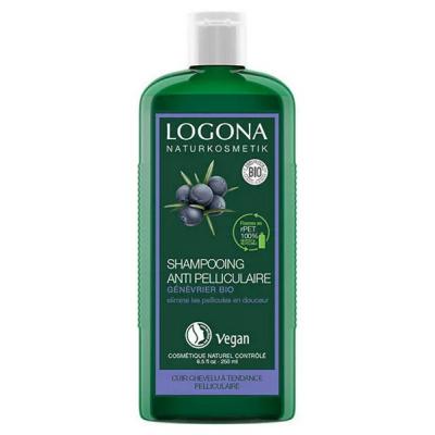 Logona Shampooing au genévrier anti-pelliculaire 250ml cosmétique bio shampooing bio les copines bio