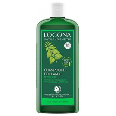 Logona Shampooing brillance à l'ortie - 250 ml les copines bio