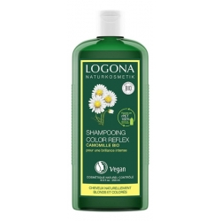 Shampooing reflets Camomille Cheveux blonds 250ML Logona les copines bio
