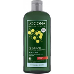 Logona Shampooing sensitif à l'acacia - 250ml