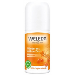 Weleda Déodorant roll on 24h Argousier 50 ml déo bio les copines bio