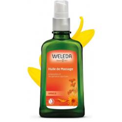 Weleda Huile de massage à l'Arnica 100 ml - avec pompe spray relaxation récupération les copines bio