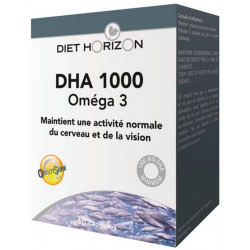 Diet Horizon DHA 1000 omega 3 les copines bio