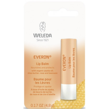 Weleda Soin des lèvres Everon - 4,8 g cires naturelles les copines bio