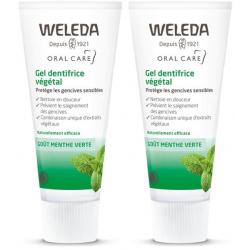 Dentifrice Végétal sensibilité des gencives Weleda - lot de 2 x 75ml