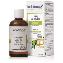 Ladrôme Huile végétale de Jojoba hydratante 100 ml cire de jojoba les copines bio