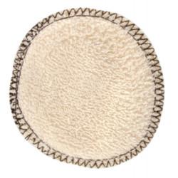 Lulu Nature 12 lingettes à démaquiller en coton bio réutilisable les copines bio