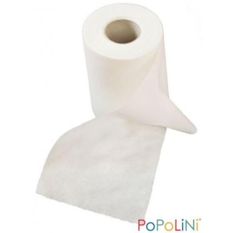 Popolini Rouleau de 120 Feuilles à jeter pour couches lavables feuilles en cellulose absorbante Les copines bio
