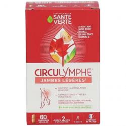 Santé Verte Circulymphe 60 comprimés vigne rouge bioflavonoides de citron les copines bio