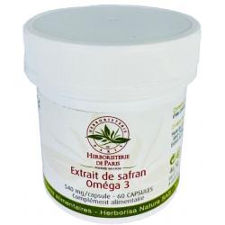 Herboristerie de Paris Extrait de Safran Oméga 3 60 capsules bien être émotionnel Les copines bio