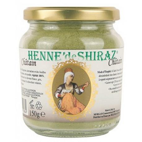 Henné de Shiraz Châtain pot 150 g