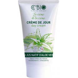 C'BIO Crème hydratante visage Gel Natif Aloe vera 50 ml gel natif bio les copines bio