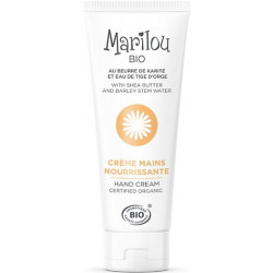 Marilou Bio Crème nourrissante Mains 75ml cosmétique bio Les copines bio