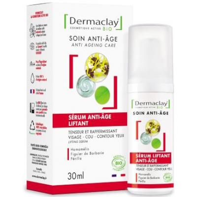 Dermaclay Sérum Liftant Eclat formule plus 30 ml cosmétique bio les copines bio