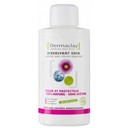 Dermaclay Dissolvant Soin Doux et protecteur 125ml maquillage vegan Les copines bio