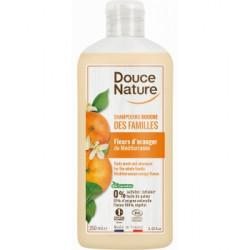 Douce Nature Shampoing Douche des familles Fleurs d'oranger 250ml