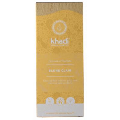 Khadi Teinture aux Plantes Blond Clair coloration capillaire
