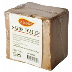 Alepia Savon d'Alep filmé peaux délicates 190 g Les Copines Bio Hygiène bio