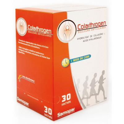 Monapharm Colarthrogen Collagène Acide hyaluronique 1 mois de cure 30 sachets plus 2 offerts Les copines bio