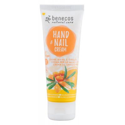 Benecos crème mains et ongles argousier orange 75ml soin bio Les copines bio