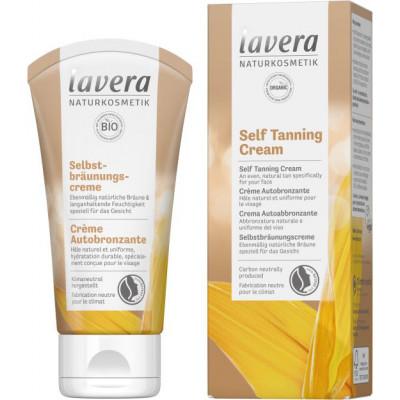 Crème Autobronzante 50ml Lavera soin solaire bio les copines bio