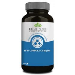 Equi Nutri No 41 complex Ca Mg Mn 60 gélules calcium magnésium manganèse Les copines bio