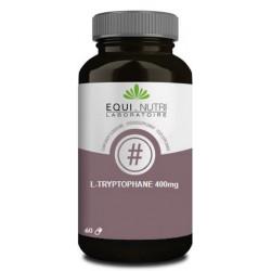 Equi Nutri L Tryptophane 60 gélules végétales de 400mg précurseur de serotonine Les copines bio