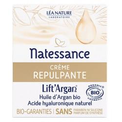 Natessance Crème Repulpante Anti rides Lift'Argan 50 ml anti-âge fermeté les copines bio
