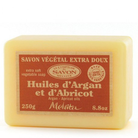 Savon Argan Abricot Naturel-250 g