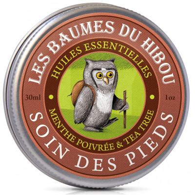 Oléanat Baume du Hibou Soin des Pieds 30 ml les baumes de Mr hibou Les copines bio