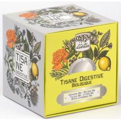 Provence d'Antan Tisane Be Cube Digestive bio 24 sachets recharge carton digestion Les copines bio