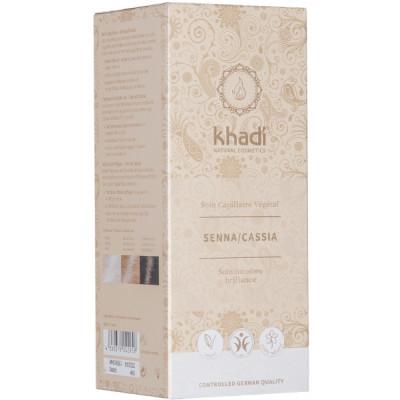 Khadi Coloration végétale Senna/Cassia Naturel 100gr henné neutre Les copines bio