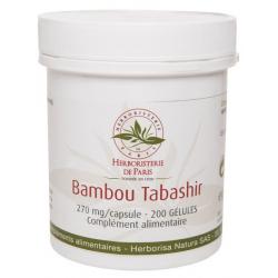 Herboristerie de Paris Bambou Tabashir 200 gélules silicium silice Les copines bio
