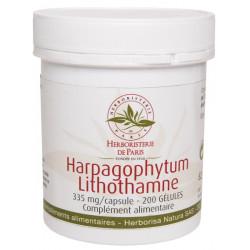 Harpagophytum Lithothamne 200 Gélules - Herboristerie de Paris harpagophytum procumbens Les copines bio