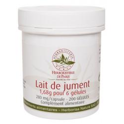 Herboristerie de Paris Lait de Jument 200 Gélules vitalité et tonus Les copines bio