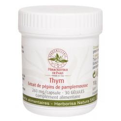 Herboristerie de Paris Thym Extrait de pépins de pamplemousse 30 Gélules défenses naturelles Les copines bio