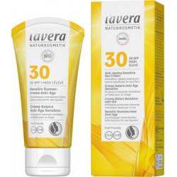 Lavera Crème solaire anti âge sensitive SPF 30 50 ml protection solaire bio les copines bio