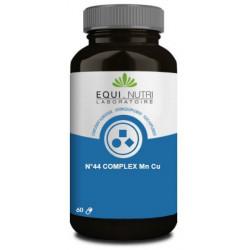 Equi Nutri No 44 complex Manganèse Cuivre Mn Cu 60 gélules végétales métabolisme articulaire Les copines bio