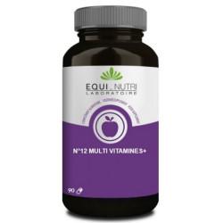 Equi Nutri No 12 Multi-Vitamines Plus Ginseng  90 gelules energie Les copines bio